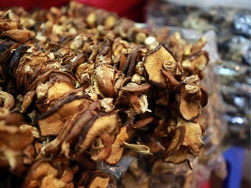 Giá nấm hương rừng thường cao hơn nấm thông thường