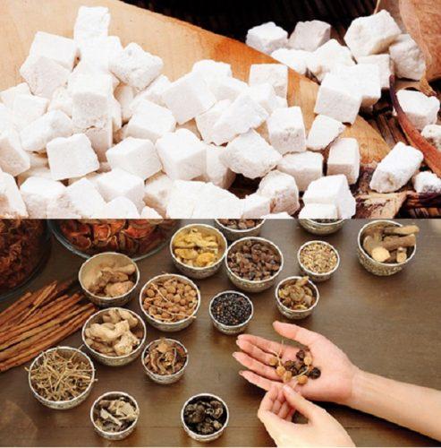 Sử dụng nấm bạch linh với các loại thảo mộc khác được ưa chuộng