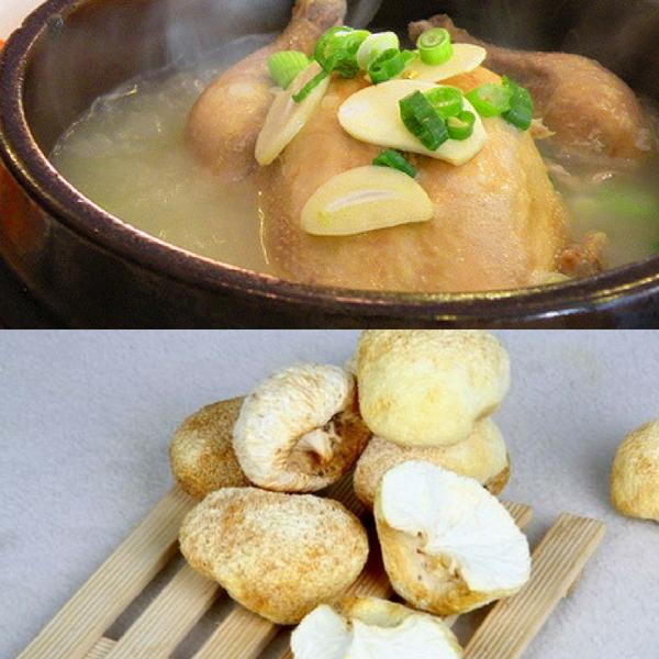 Món gà hầm nấm hầu thủ