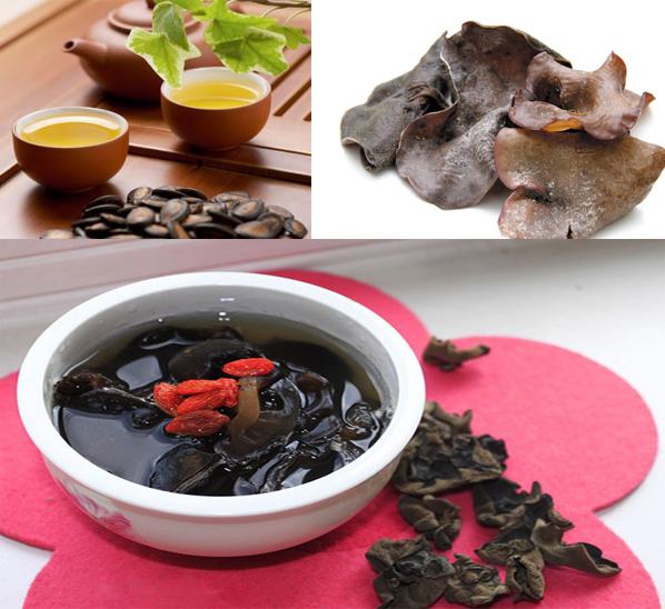 Cách dùng nấm mộc nhĩ đen trong một số loại bệnh