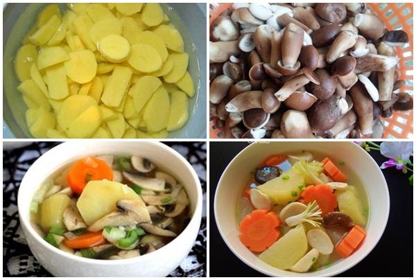 Cách sử dụng nấm keo trong thực đơn món ăn hằng ngày.