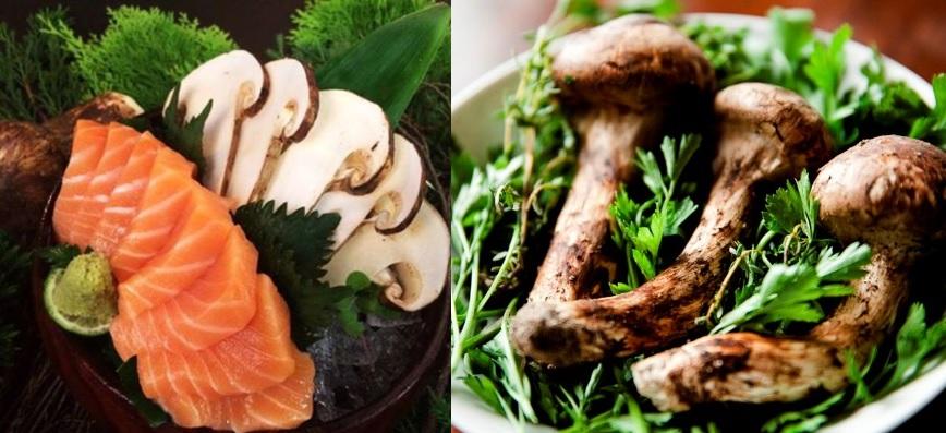 Chế biến nấm Matsutake theo ẩm thực Nhật Bản