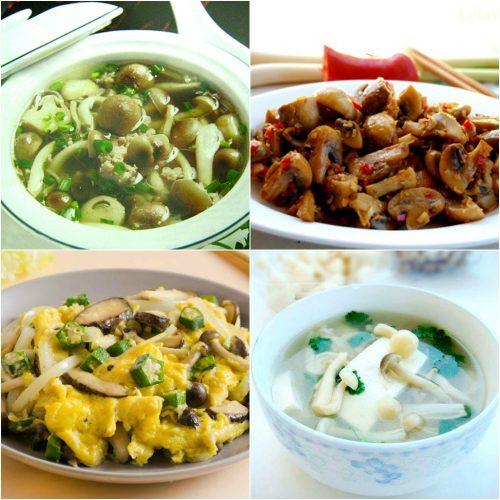 Chế biến nấm ngọc bích thành nhiều món ăn ngon và bổ dưỡng