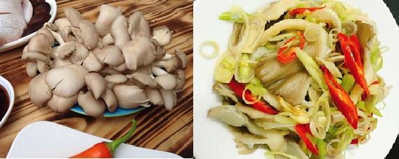 Chế biến nấm ngọc thạch thành món ăn bổ dưỡng