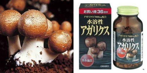 Sử dụng nấm thái dương dạng viên rất hữu ích