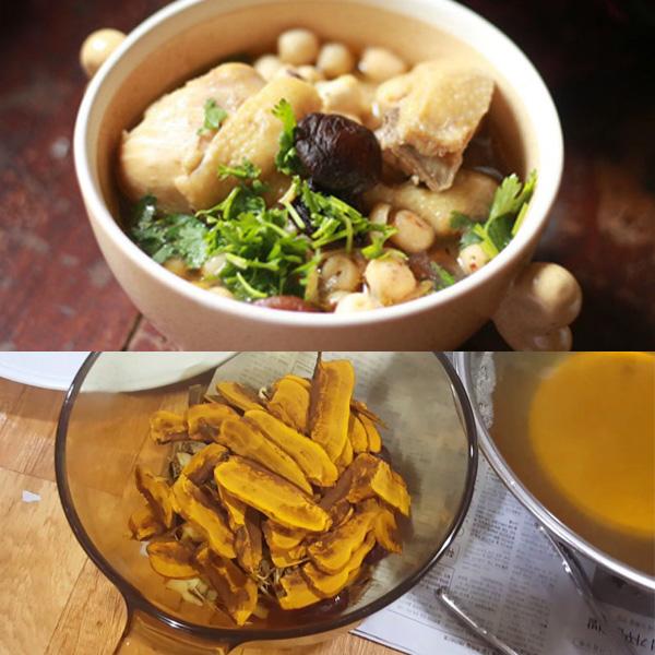 Nấm thượng hoàng hầm gà là món ăn thơm ngon, bổ dưỡng