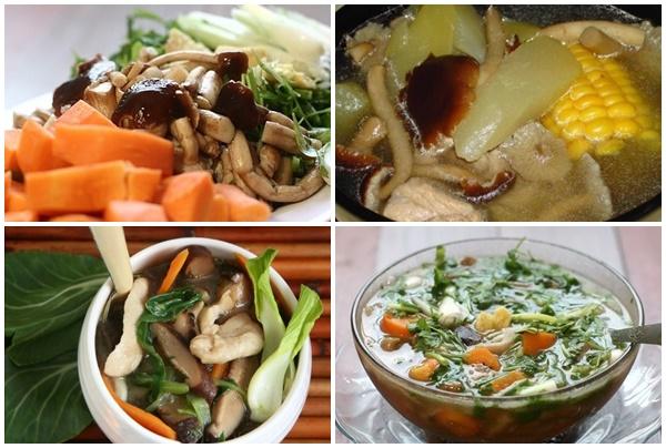 Chế biến canh nấm trà tân thơm ngon, hấp dẫn và đầy đủ chất dinh dưỡng.