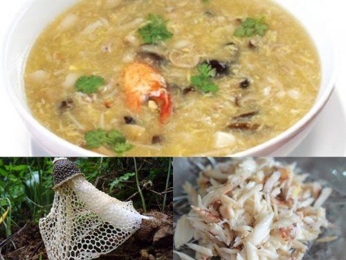 Chế biến nấm tâm trúc nấu súp thơm ngon, bổ dưỡng